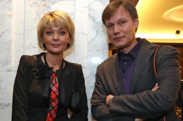 Юлия Меньшова и Игорь Гордин.