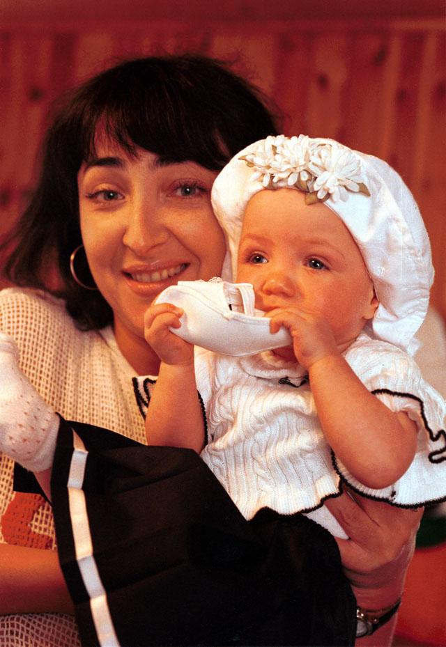 Лолита Милявская с дочкой Евой.