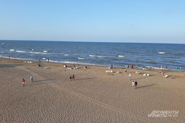 Пляж Дербента.
