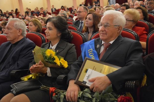 Илья Каган получил высшую муниципальную награду - звание Почетного гражданина Оренбурга.