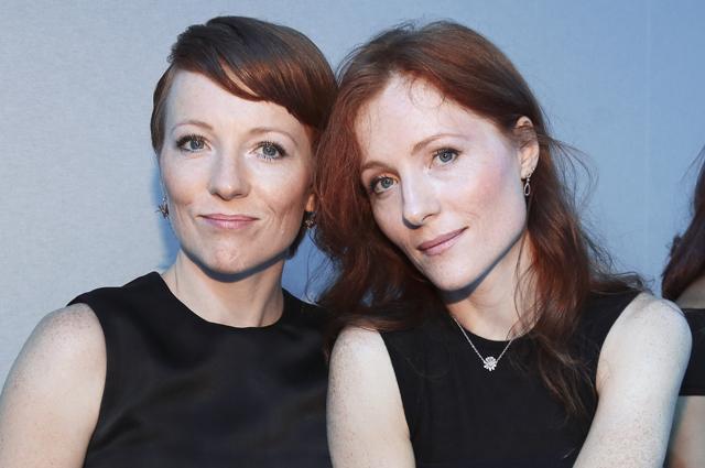 Полина и Ксения Кутеповы.