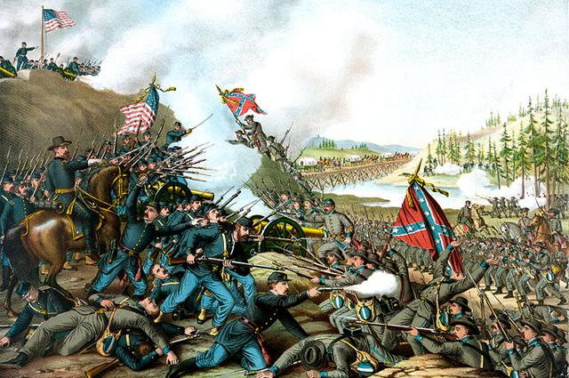 Теннесси, 1864 r.