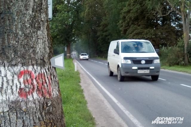 Для пешеходов на такой дороге места почти не остается.
