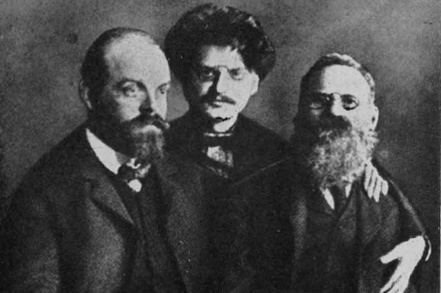 Парвус, Троцкий, Лев Дейч.