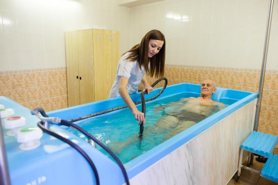В «Лабе» используют натуральную высокоминерализованную термальную воду.