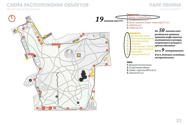 Слушания по Центральному парку Белгород