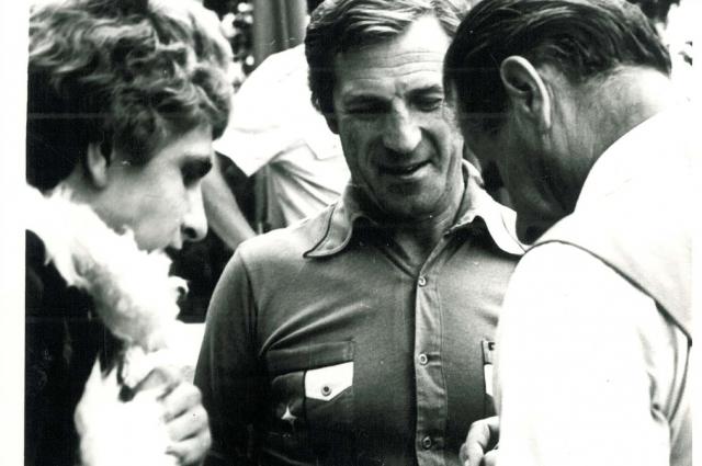 Легенда советского футбола Виктор Царев и Лев Яшин. п. Хомяково под Тулой 1980.