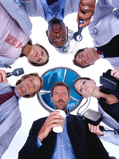 Постер к третьему сезону сериала Доктор Хаус