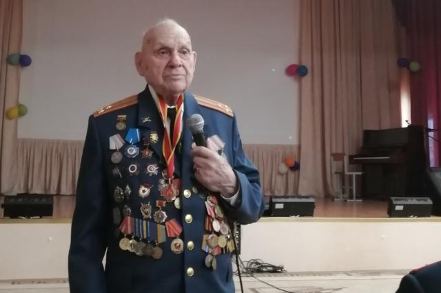 Ветеран войны Спартак Андреевич Сычёв.