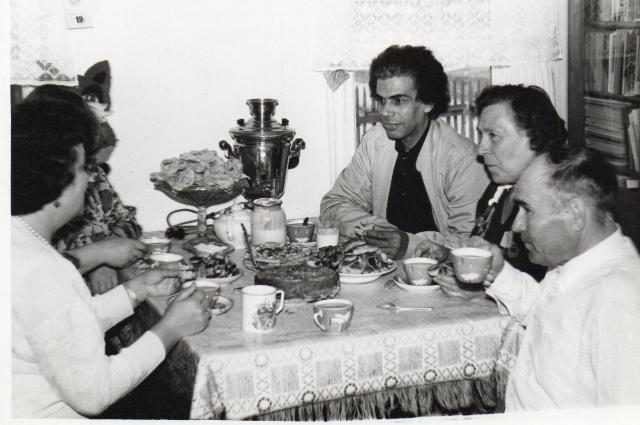 В селе Кашино Паттерсона в 80-х годах встречали как родного.