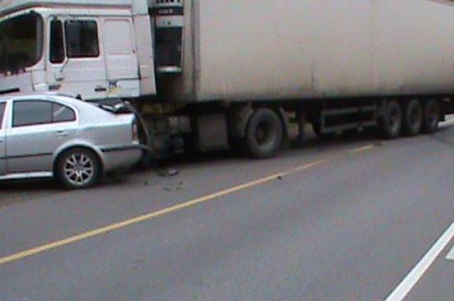 Столкновение с грузовиком