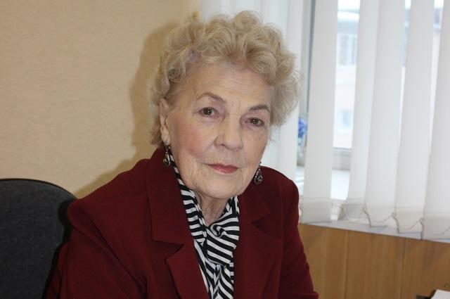 Екатерина Баннова, председатель Союза пенсионеров Пензенской области