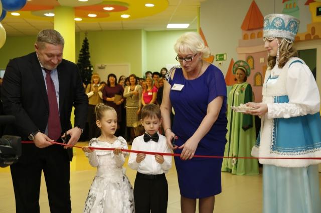 Открытие нового корпуса детсада
