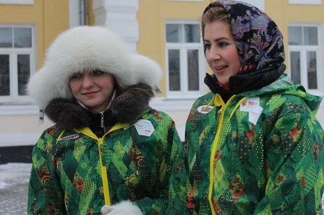 Везде олимпийский огонь встречали радостные крики оренбуржцев
