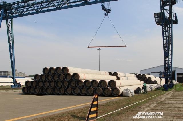 В Азовском морском порту трубы «Южного потока» лежали больше года, сковывая работу предприятия.