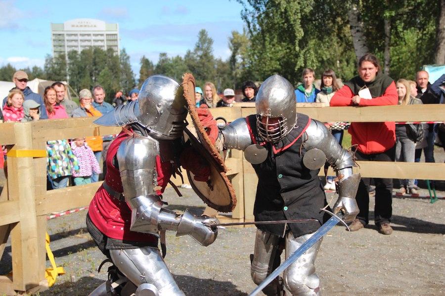 Бои на мечах Петрозаводск
