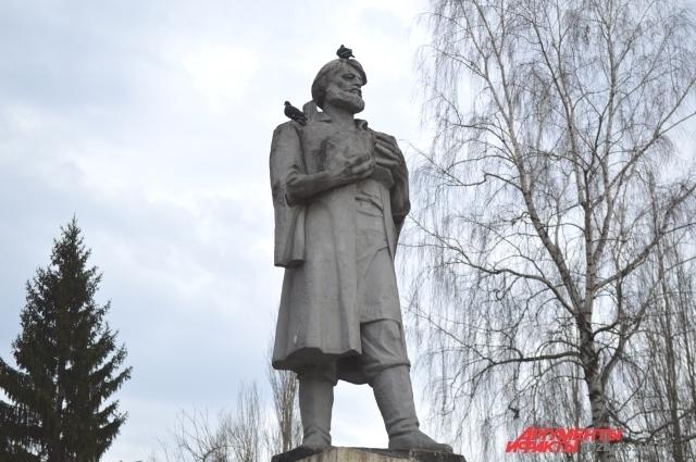 Михайло Волков - первооткрыватель угля в районе современного Кемерова.