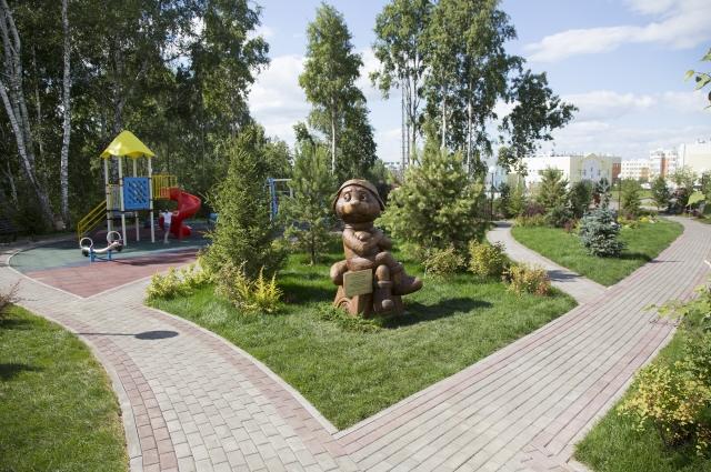 Лесная Поляна вполне может претендовать на звание городского оазиса, благодаря новым планировочным решениям.