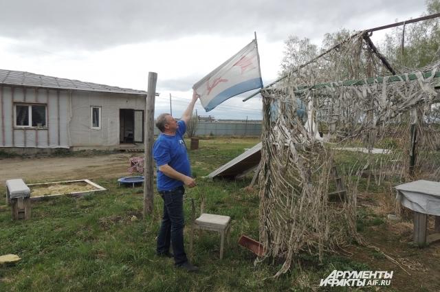 Часть территории остается в аренде у семьи Карачевых, а дом они должны освободить.