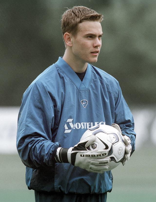 Вратарь сборной команды России по футболу Игорь Акинфеев.