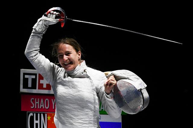 Победительница в соревнованиях личного первенства среди женщин Софья Великая.