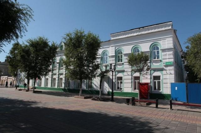 Сегодня в здании школы для киргизских детей расположена общеобразовательная школа №3.
