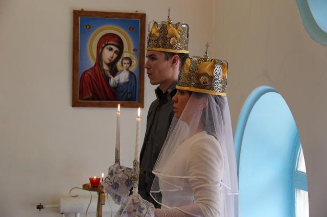 Дмитрий и Елена к осознанному заключению церковного брака шли 11 лет.