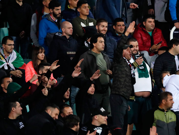 Болгарские болельщики.