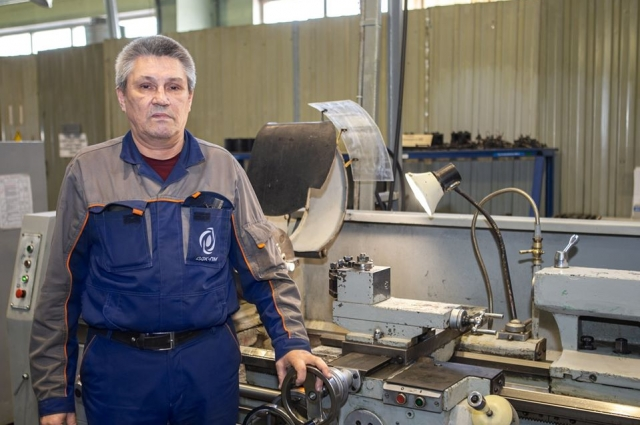 Сейчас Раиф Шайхельахметов трудится токарем шестого разряда на «Пермских моторах».