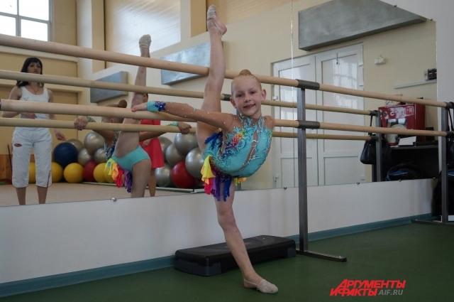Татьяна Гневышева не пропускает соревнований дочери