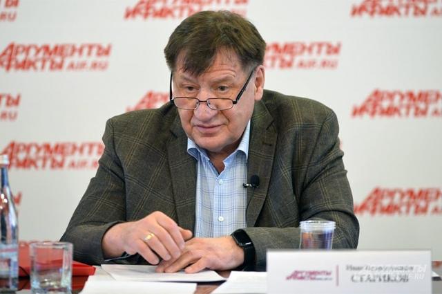 Иван Стариков, заместитель председателя ЦС ВООП, действительный государственный советник РФ