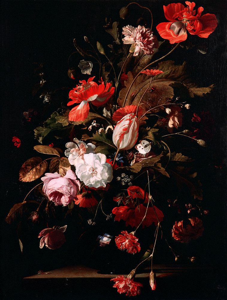 Виллем ван Алст. Натюрморт с весенними цветами