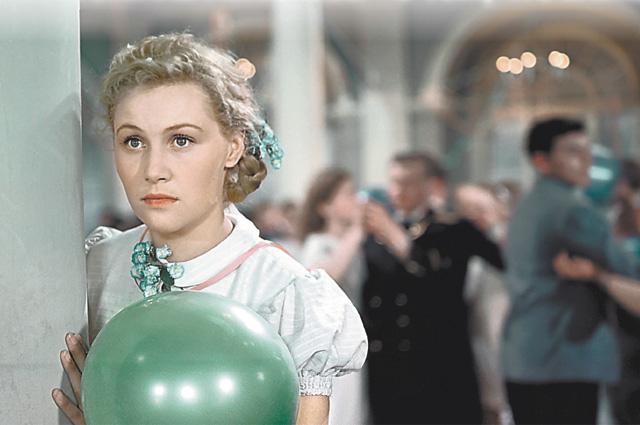 Татьяна Конюхова в фильме «Разные судьбы», 1956 год