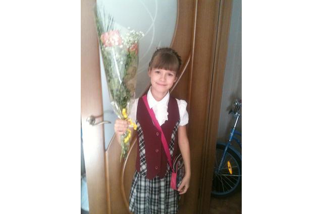 Участница конкурса Лена.