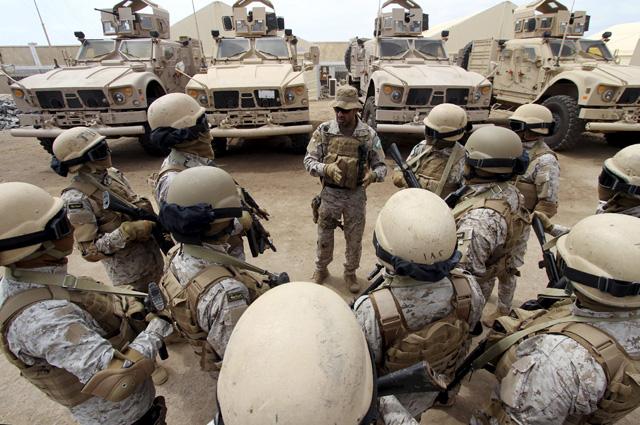 Армия Саудовской Аравии.