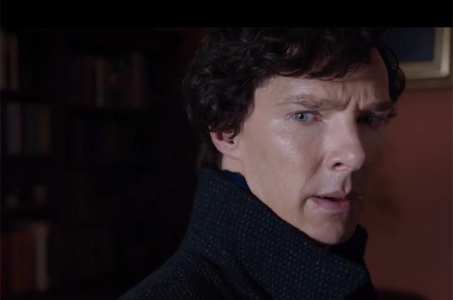 Кадр из сериала «Шерлок».