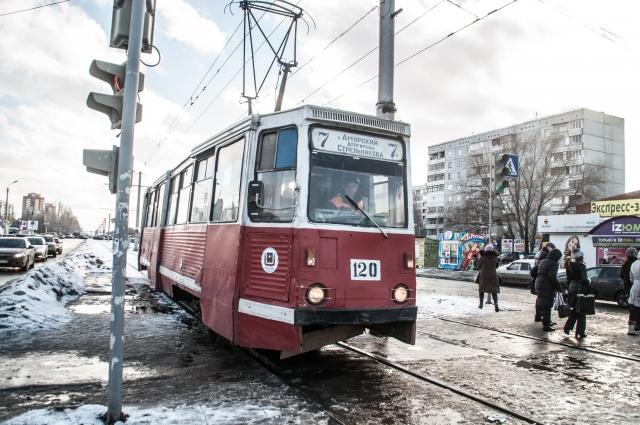 Пертурбации маршрутной сети не повлияли на трамвайное сообщение