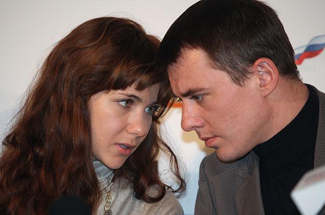 Актеры Екатерина Климова и Игорь Петренко, 2010 г.