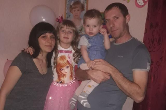 Семья Чурсиных с удовольствием обживала новый дом