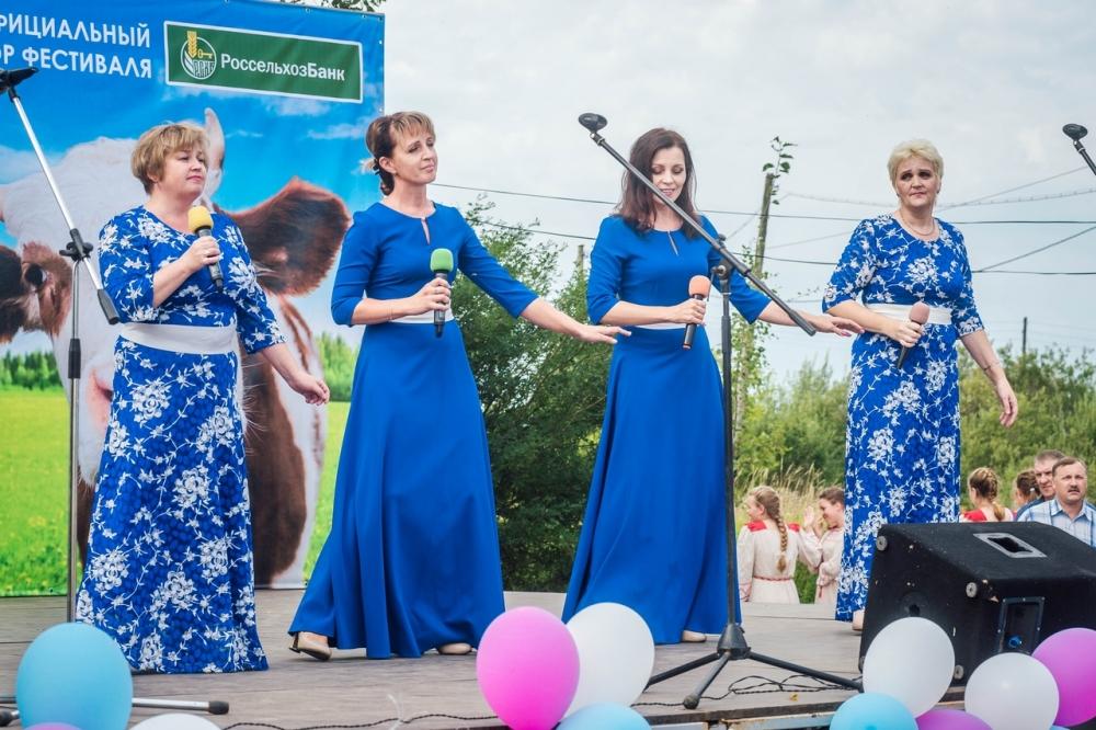 Певческий коллектив из Олонецкого района