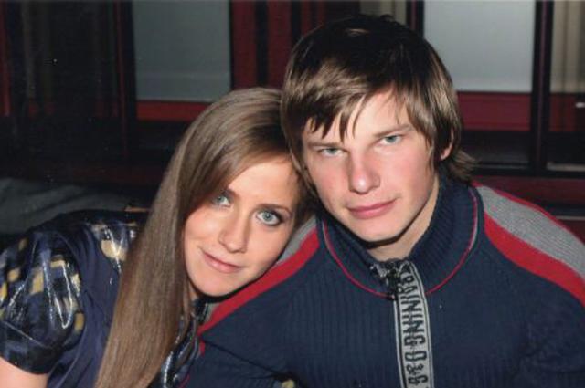 Юлия Барановская и Андрей Аршавин.