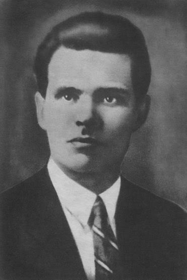 Нестор Махно в конце 1909 года.