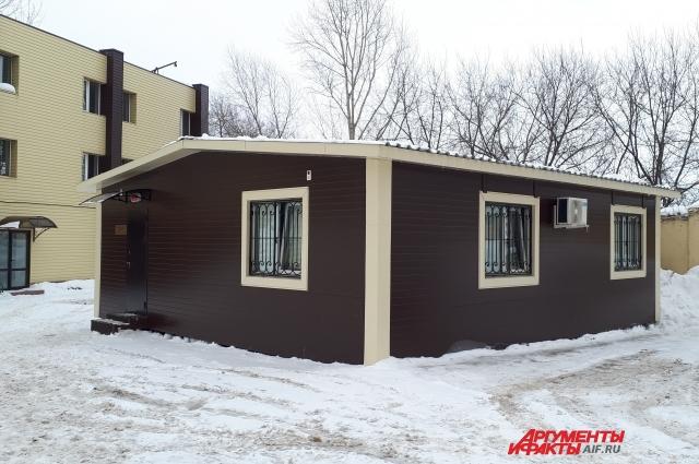 Новое здание взрывотехнической лаборатории в Казани.