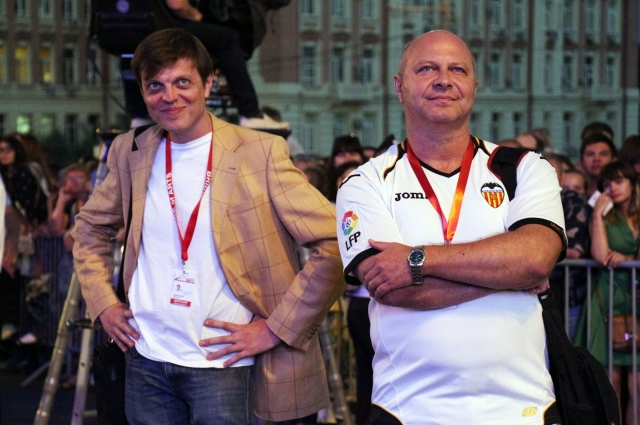 Алексей Павловский и Сергей Кисин