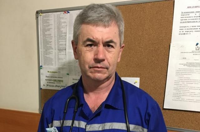 Александр Диденко работает фельдшером СМП более 30 лет