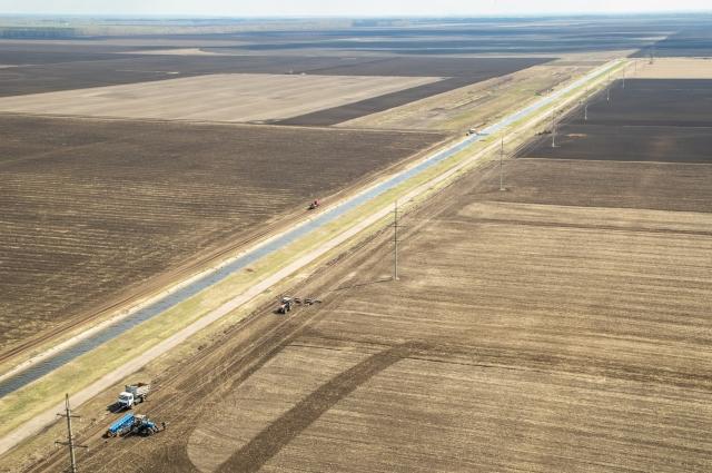 Контроль за соблюдением охранных зон магистрального газопровода — одна из задач вертолетного облета