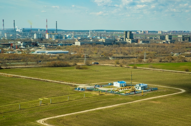 В целях безопасности газораспределительная станция всегда находится за чертой населенного пункта
