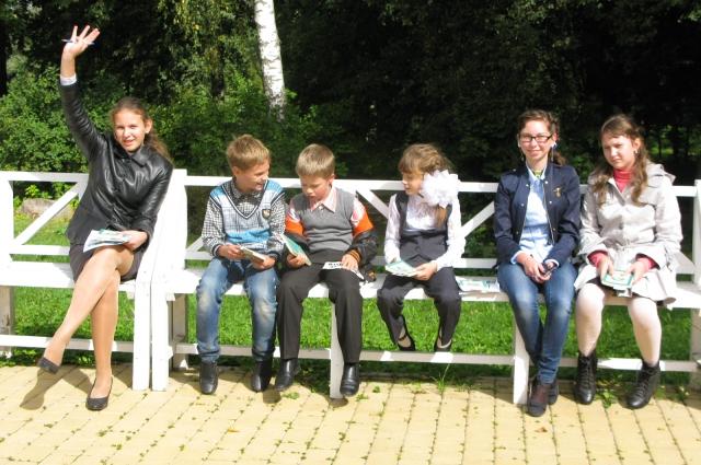 Победители конкурса после награждения.