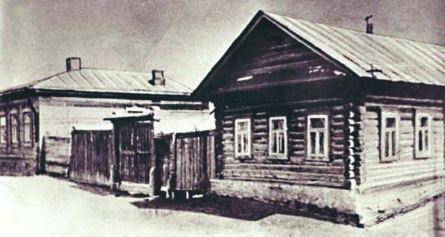 В этом доме в Елабуге прошли последние дни Марины Цветаевой