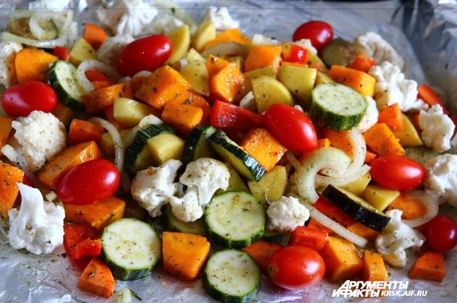 Набор овоще для этого блюда можно варьировать.